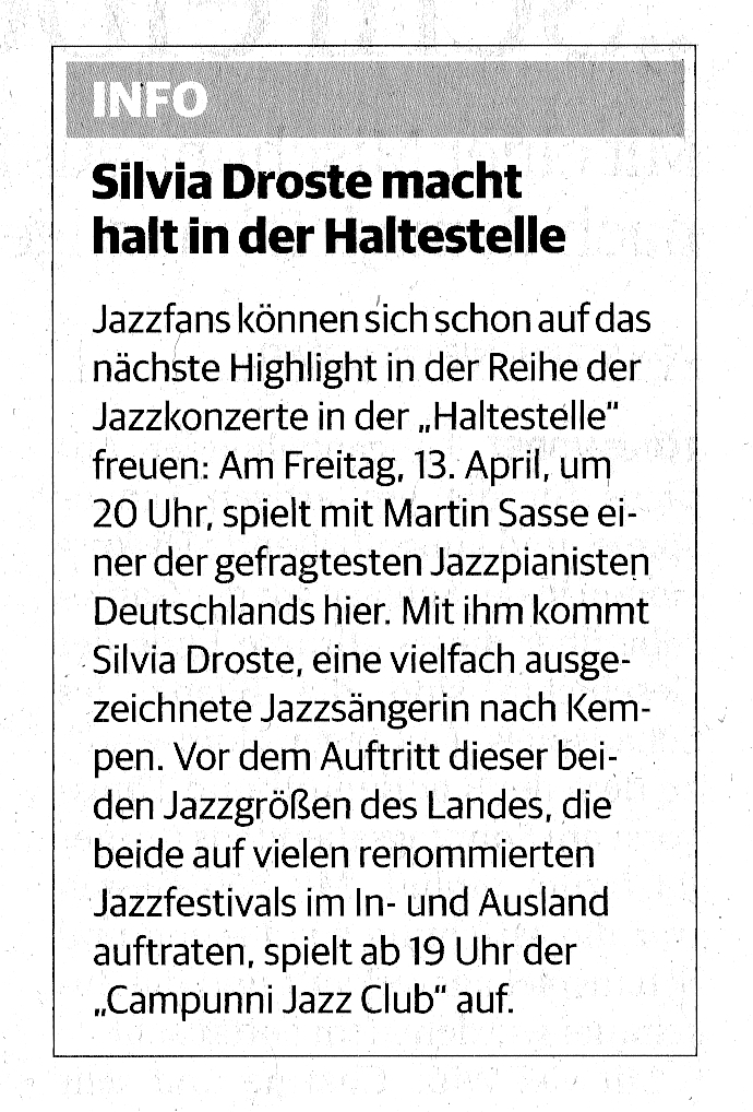 presse-martin-sasse-silvia-droste-rheinische-post-duesseldorf