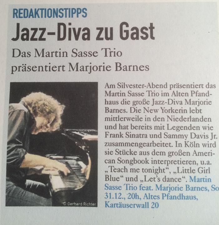 presse-martin-sasse-trio-marjorie-barnes-altes-pfandhaus-koelner-stadtanzeiger-ksta